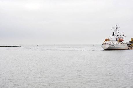 Belgian seashore